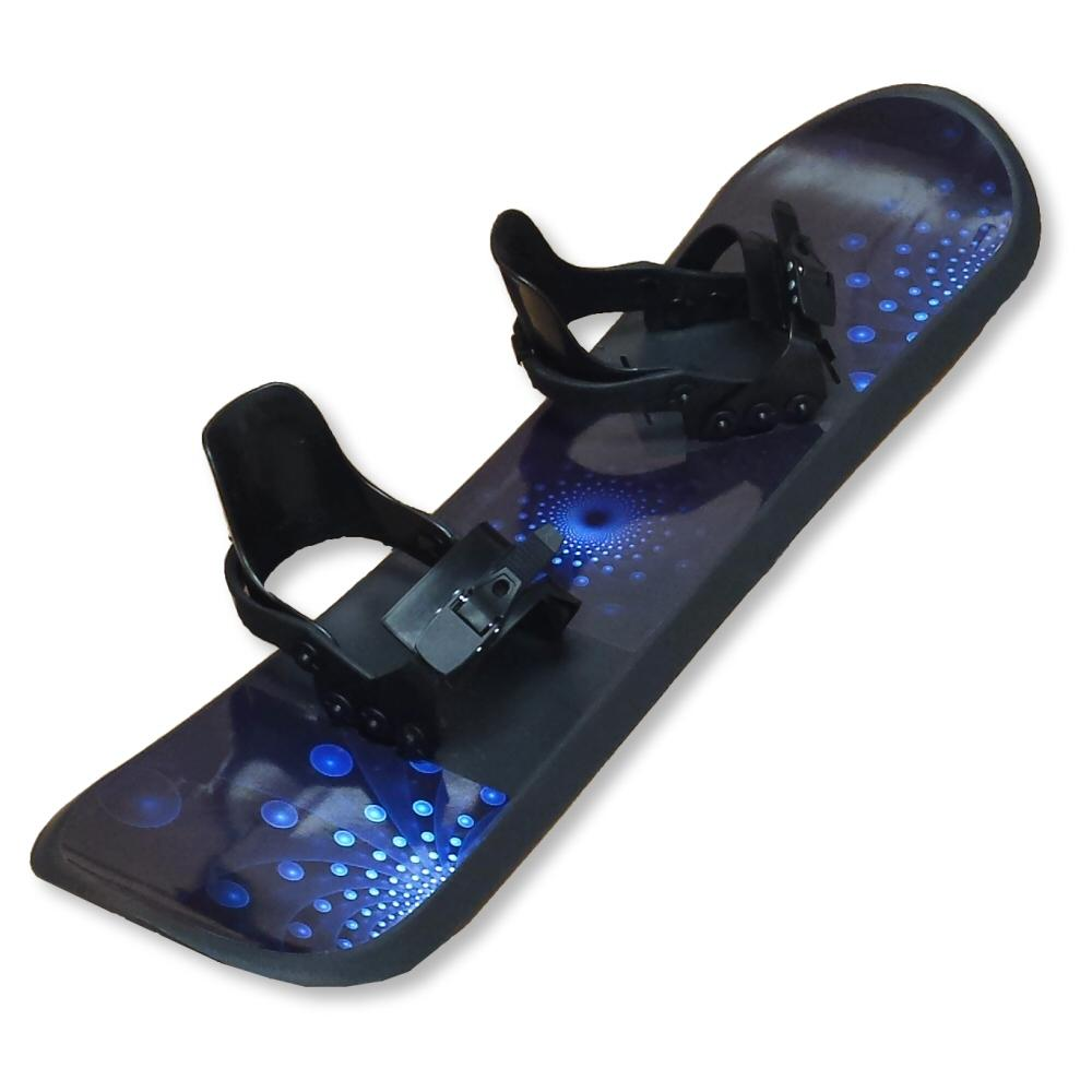 Grizzly Snow 95cm Deluxe Kid's Beginner Blue and Black Snowboard
