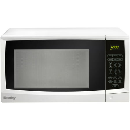 Danby 1.1 Cu. Ft. 1000W Countertop Microwave Oven in White