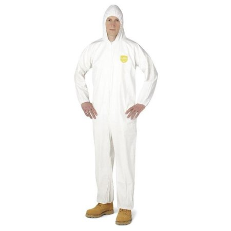 DuPonta 251-PB120S with 3XL Dupont Proshield Basic Coverall White
