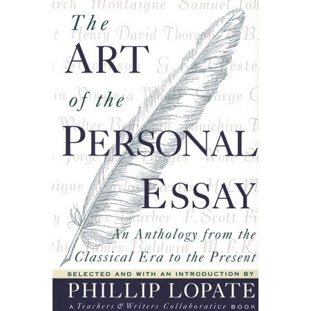 The art of the personal essay paperback walmart com