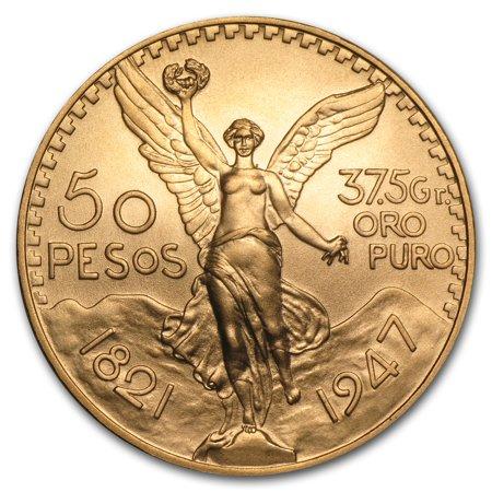 1947 Mexico Gold 50 Pesos BU Carson City Gold Coins