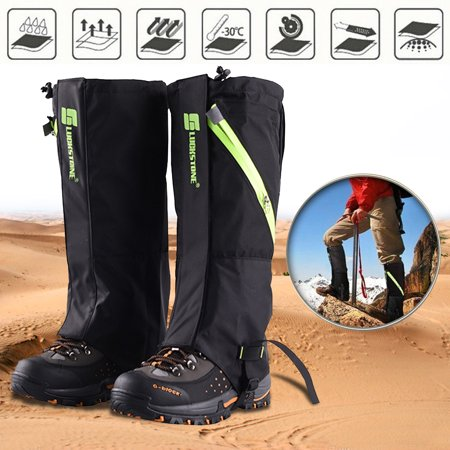 Areyourshop Outdoor Hiking Hunting Snow Sand Snake Waterproof Boots Cover Legging Gaiters thumbnail