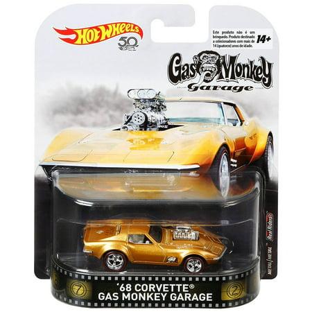 Corvette Earring - Hot Wheels Gas Monkey Garage '68 Corvette Die-Cast Car