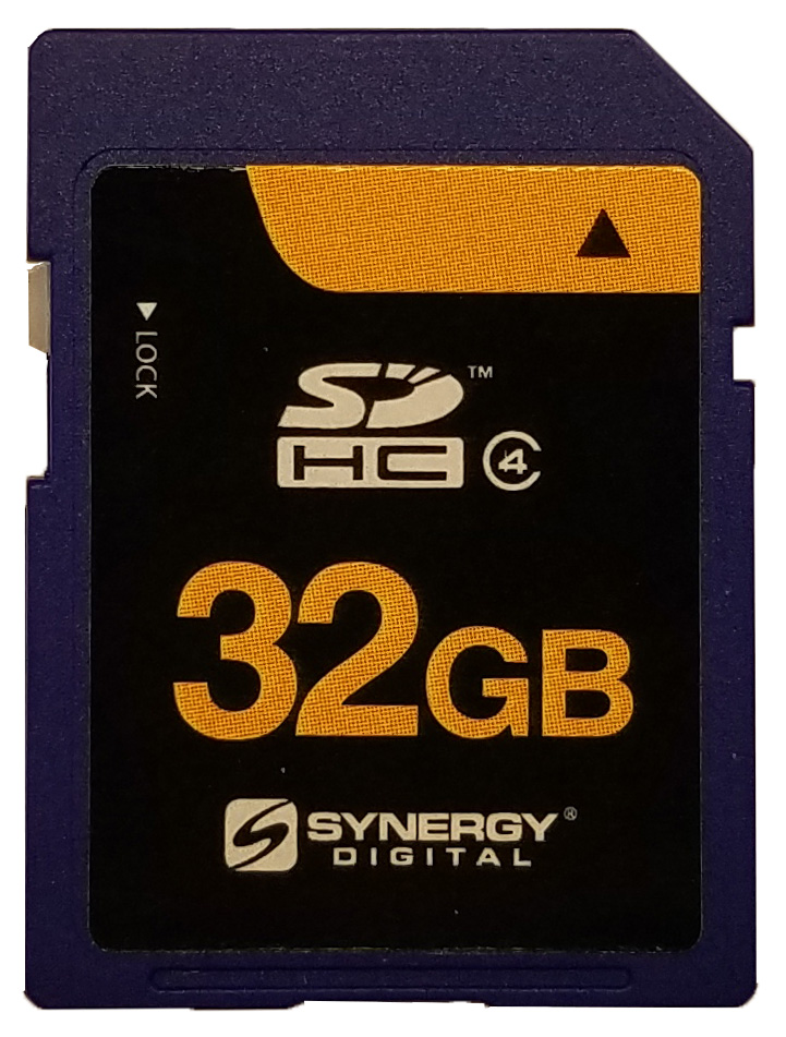 Panasonic HC-MDH2 Camcorder Memory Card 2 x 32GB Secure Digital High Capacity SDHC 2 Pack Memory Cards