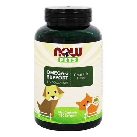 Now Pets Omega-3 Support 180 gels (Bene Bac Pet Gel)