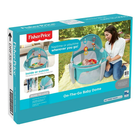 Fisher Price On The Go Baby Dome Walmartcom