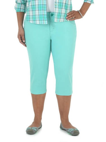 Women's Plus-Size Simply Comfort Capri