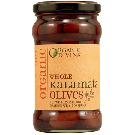 Divina Whole Organic Kalamata Olives, 6 Oz