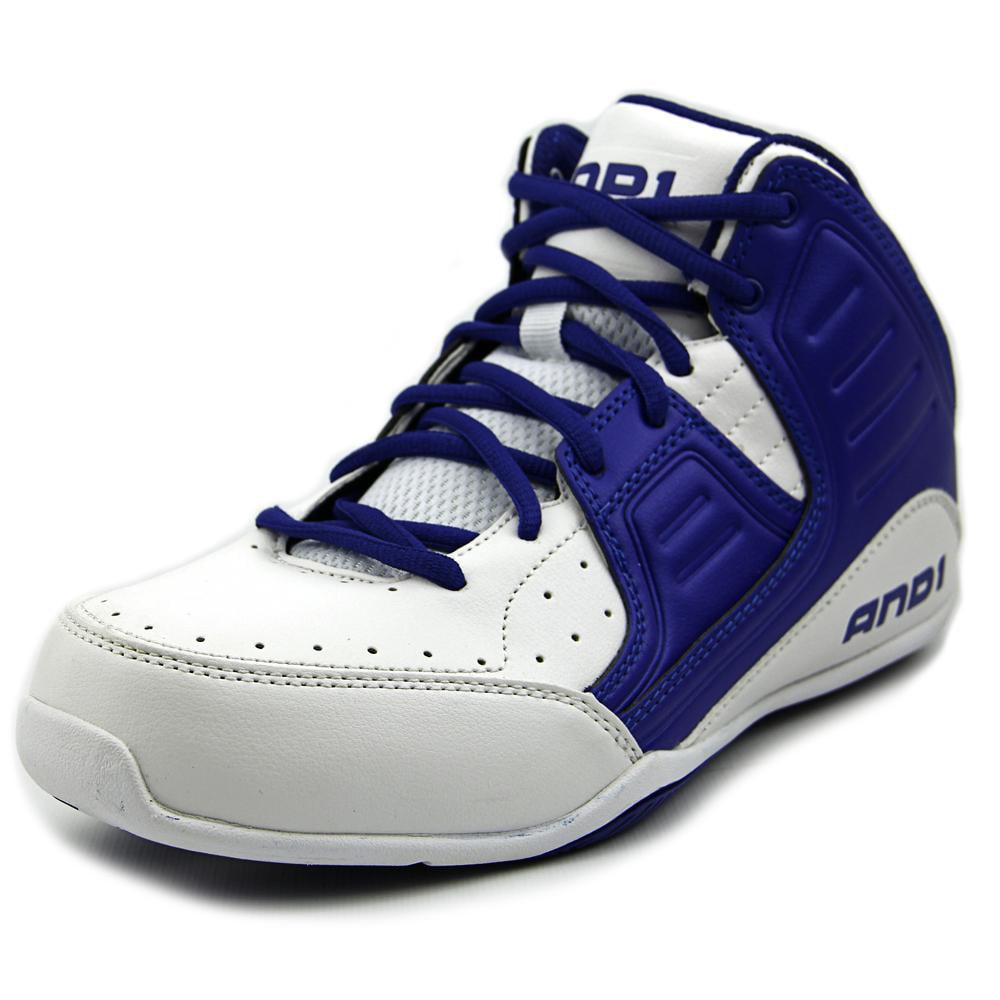And1 Rocket 4   Round Toe Leather  Basketball Shoe