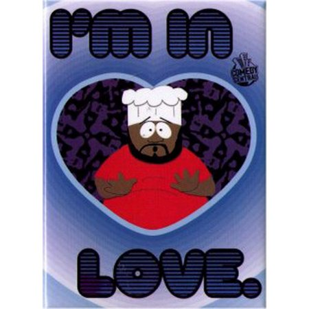 South Park Chef I'm In Love Magnet SM1587 ()