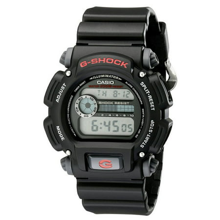 DW9052-1V G-Shock 200-Meter Water-Resistant EL-Backlit with