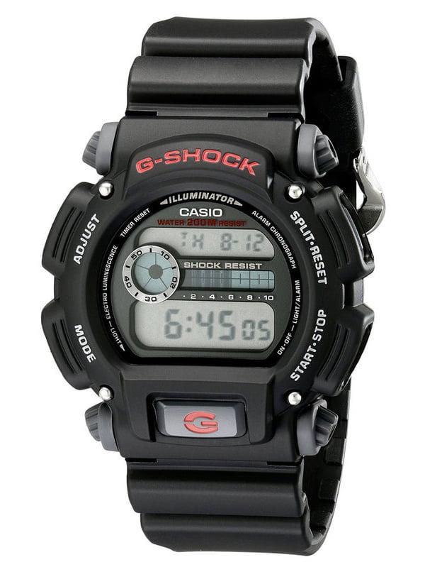DW9052-1V G-Shock 200-Meter Water-Resistant EL-Backlit with Afterglow