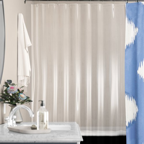 Symple Stuff Stall PEVA Single Shower Curtain Liner