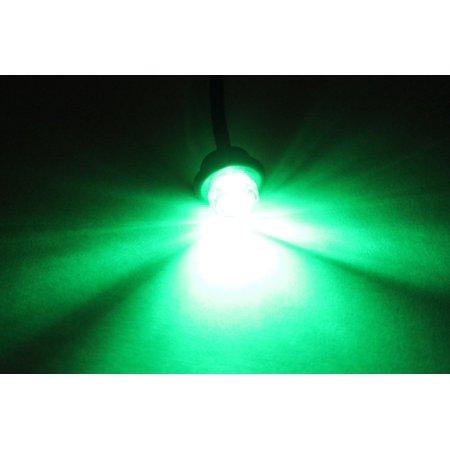 Green Led Side Marker Light (3/4