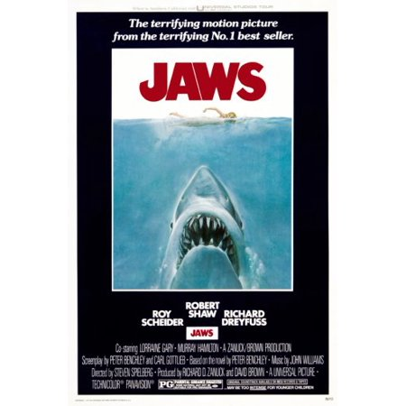 Jaws Movie Poster 11x17 Mini (Mini Movie Photos)