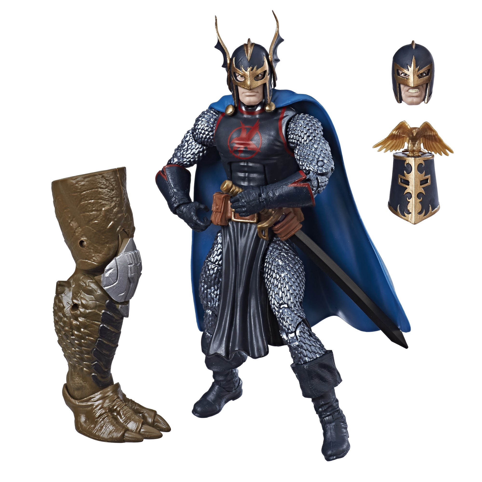 "Marvel Avengers Legends Series Black Knight 6"" Inch Action Figure"