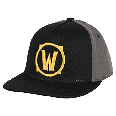 Baseball Cap - World of Warcraft - Iconic W Logo Icon Hat Stretch-Fit j7850
