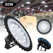 3rd Generation LED UFO High Bay Light 110V 50W cool white