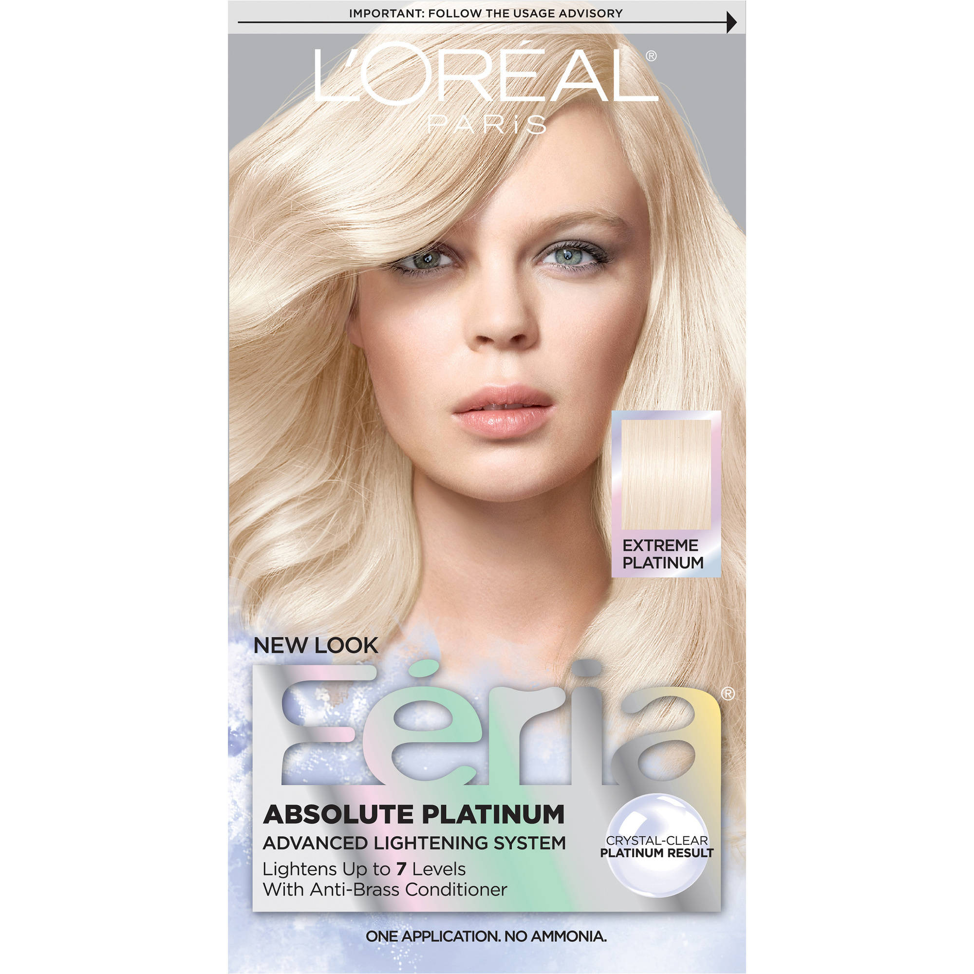L'Oreal Paris Feria Absolute Platinum Advanced Lightening Haircolor