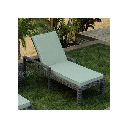 Forever Patio Hampton Chaise Lounge with Cushion