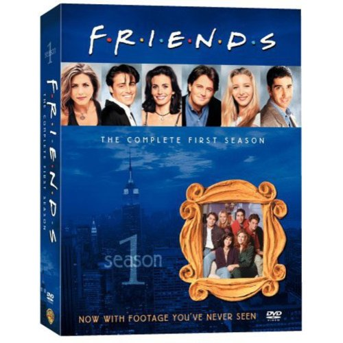 FRIENDS - THE COMPLETE FIRST SEASON [DVD BOXSET] [FOUR DISC BOXED SET]