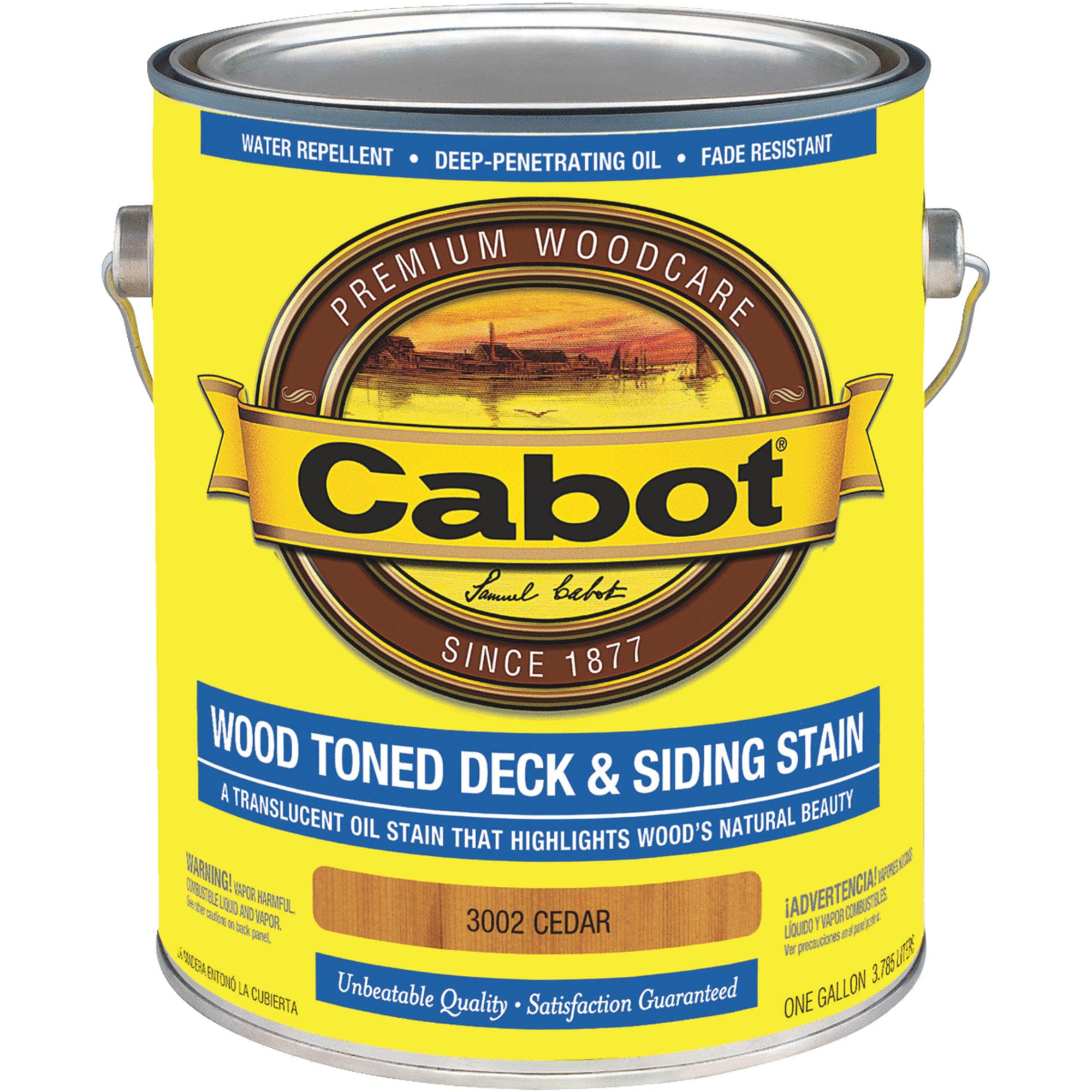Cabot Alkyd/Oil Base Wood Toned Deck & Siding Stain