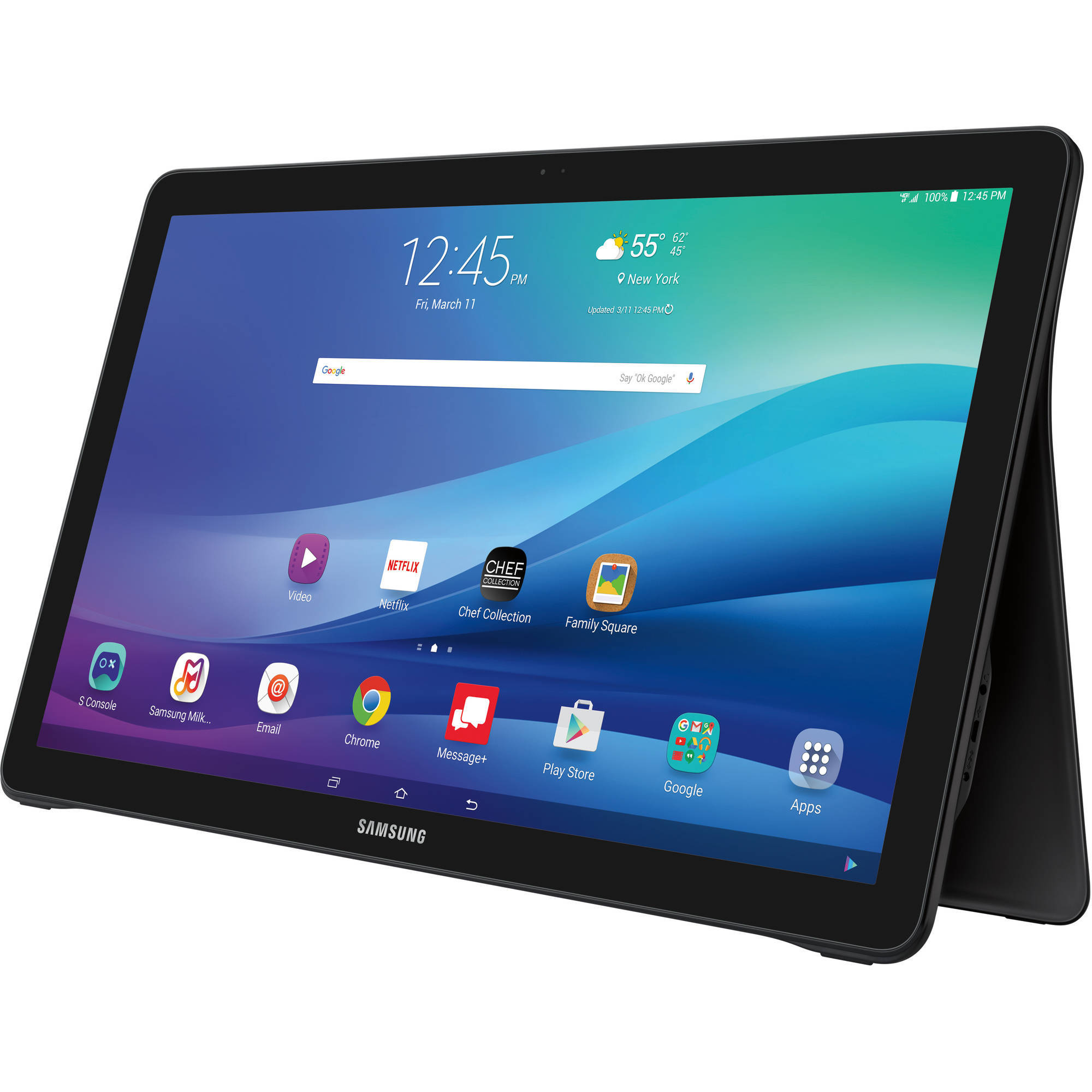 samsung galaxy view with wifi 18 4 touchscreen tablet pc featuring