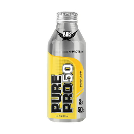 Drink Banana Cream (A.B.B. Pure Pro 50, Banana Cream, 14.5 Fl)