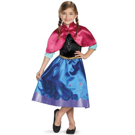 Anna Traveling Classic Child Costume (Anna Frozen Costumes For Adults)