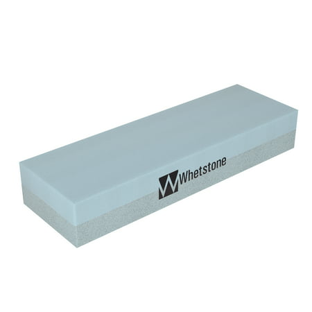 Knife Sharpening Stone-Dual Sided 400/1000 Grit Water Stone-Sharpener and Polishing Tool for Kitchen, Hunting and Pocket Knives or Blades by