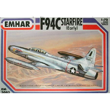 - 1/72 F94C Early Starfire USAF Interceptor Aircraft