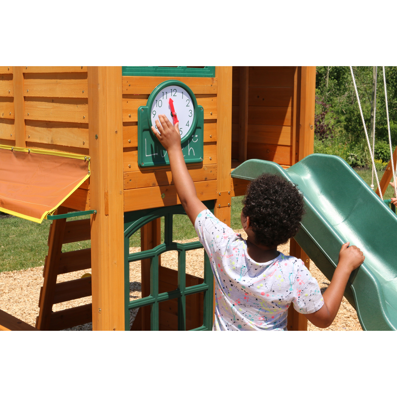 Big Backyard Brooksville Swing Set By Kidkraft Walmart Com