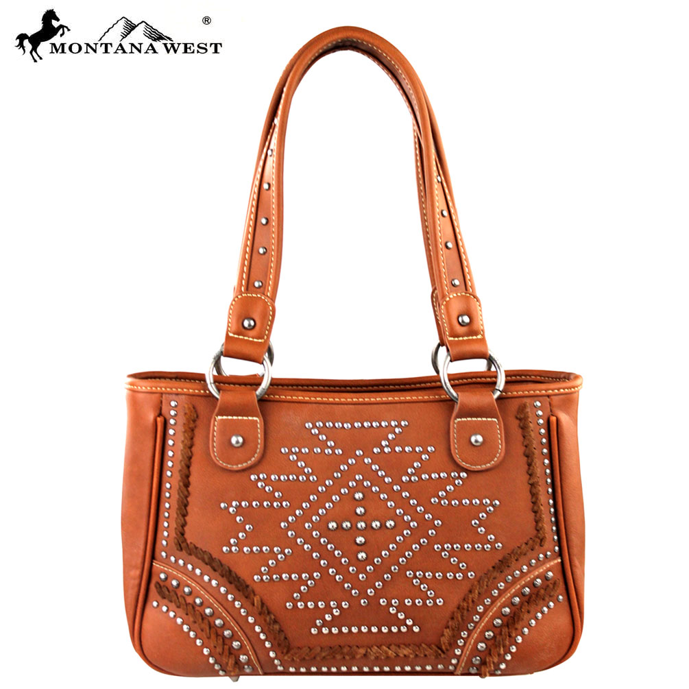 MW177-8247 Montana West Southwestern Collection Satchel