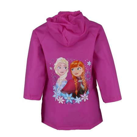 Disney Kid's Frozen Elsa and Anna Rain Coat - image 1 of 2