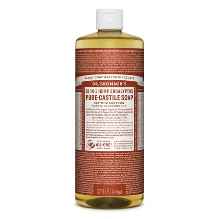 Dr. Bronner's Eucalyptus Pure-Castile Liquid Soap - 32 oz ()