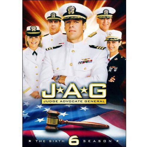 JAG-6TH SEASON COMPLETE (DVD/6DISCS)