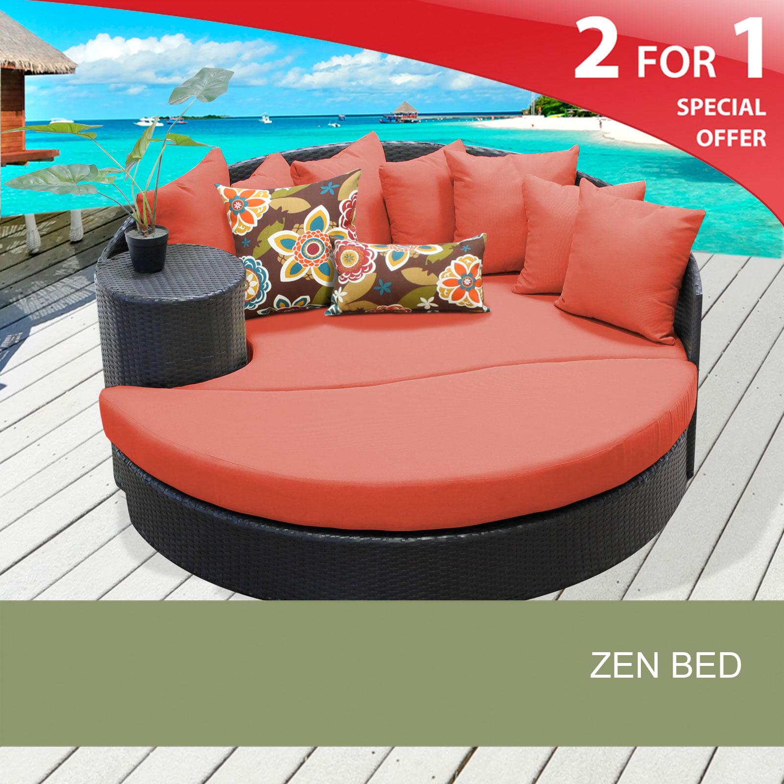 Sensational Zen Circular Sun Bed Outdoor Wicker Patio Furniture Download Free Architecture Designs Embacsunscenecom