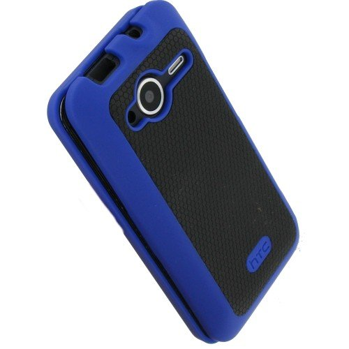 HTC EVO Shift 4G Hard Shell Case - Blue/Black