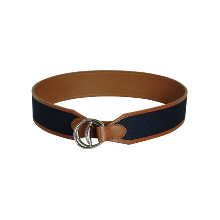 Lauren by Ralph Lauren Women's Thick Width Faux Leather (Lauren Ralph Lauren Leather C Buckle Belt)