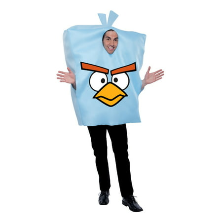 Angry Birds Space Ice Adult Halloween Costume - One - Ice Bird Halloween Costume