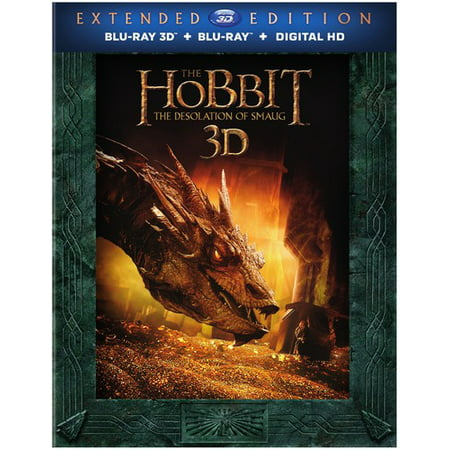 Hobbit  The Desolation Of Smaug  Blu Ray   Blu Ray   Digital Copy