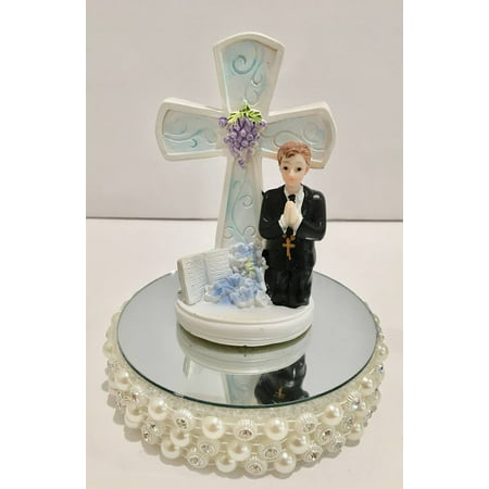 First Communion Cake Decoration Cake Topper Centerpiece Boys Communion (1st Communion Cake Decorations)