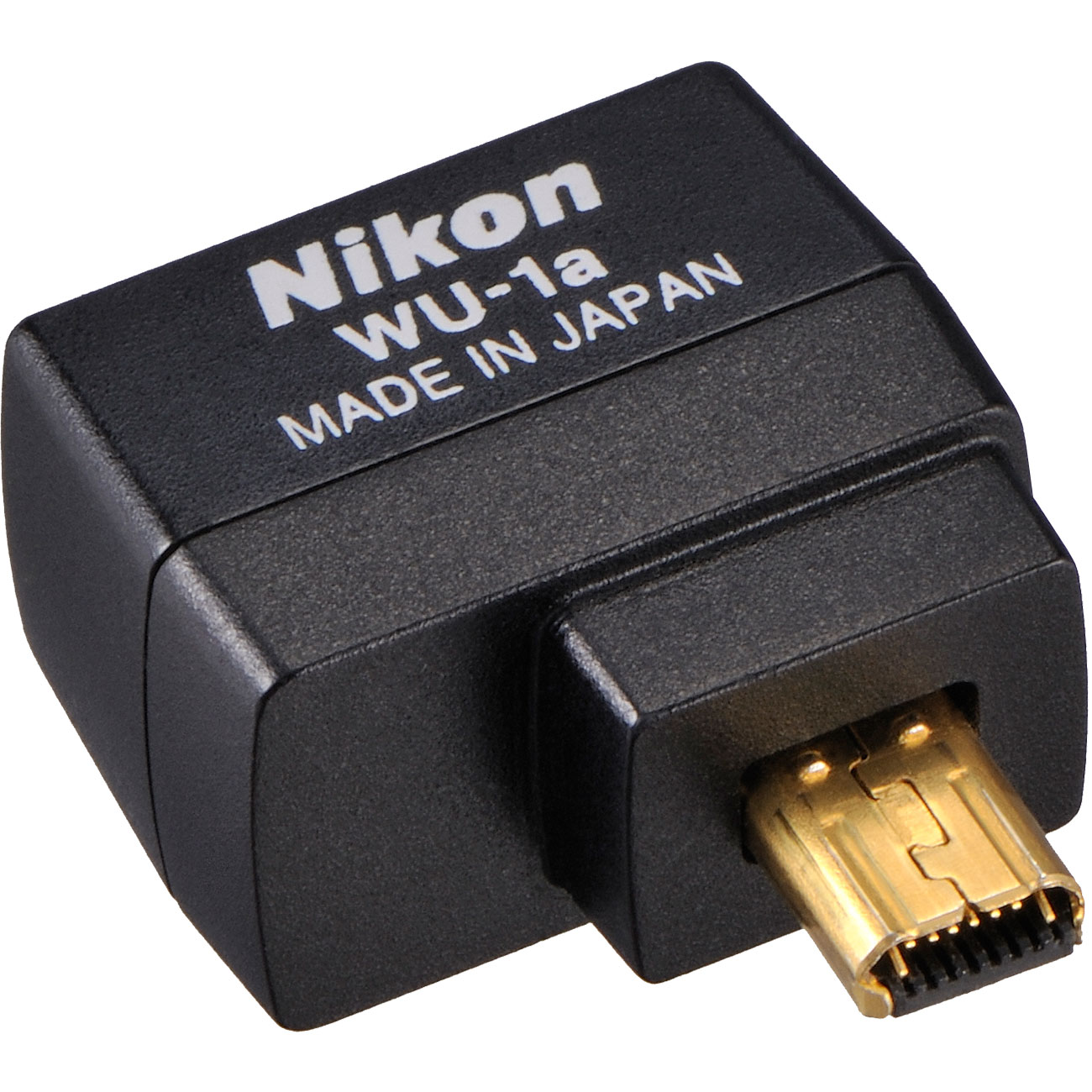 Nikon WU-1a Wireless Wi-Fi Mobile Adapter (for iPhone or Android) - Factory Refurbished for Coolpix A, P330, P520, P530, P7800, DF, D3200, D3300, D5200 & D7100 DSLR Camera