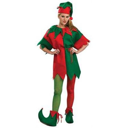 Child's Red and Green Elf Tights (Red And Green Elf Tights)