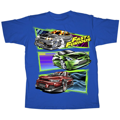 Boys' Fast & Furious Graphic Tee