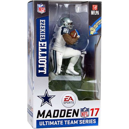 McFarlane NFL EA Sports Madden 17 Ultimate Team Series 2 Ezekiel Elliott Action Figure [Color Rush Uniform - White Pants