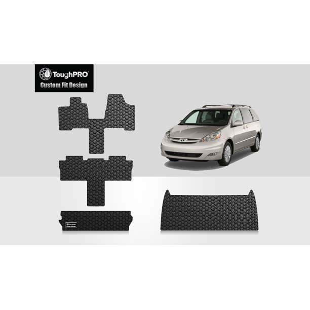 Toughpro Toyota Sienna Full Set With Cargo Mats All Weather