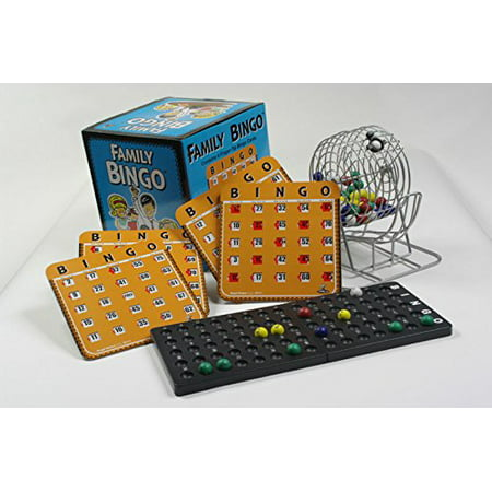 Regal Games Family Bingo Set with Shutter Slide Cards - Family Crafts Halloween Bingo