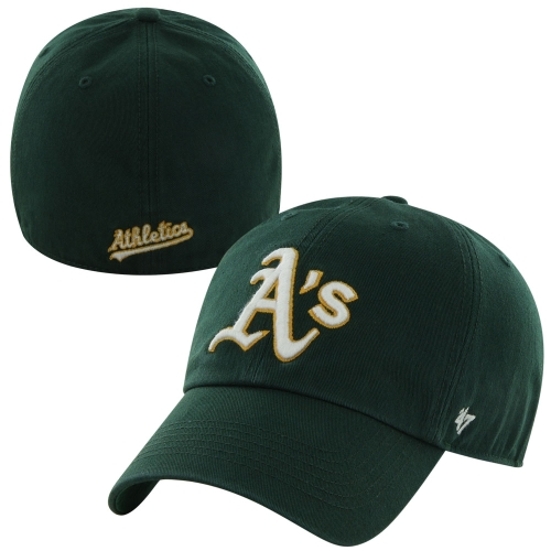 Oakland Athletics '47 Brand Franchise Fitted Hat - Green