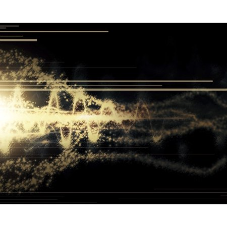 Combined Bursts Of Energy Form A Powerful Beam Which Is Able To Destroy Whole Planets Poster Print